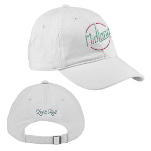 Let It Roll White Dad Hat