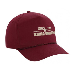 The Sonic Ranch High Profile Cotton Snapback