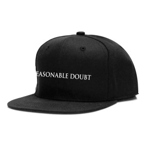 Reasonable Doubt Snapback Cap