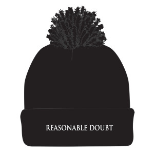 Reasonable Doubt Pom Beanie