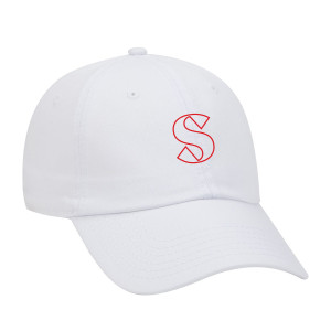 Sam Hunt White Embroidered Dad Hat