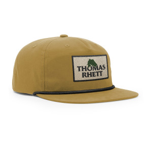 Fish Logo Tan Snapback Hat