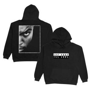 Ice Cube Photo Back Black Hoodie