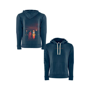Nightfall Navy Photo Hoodie