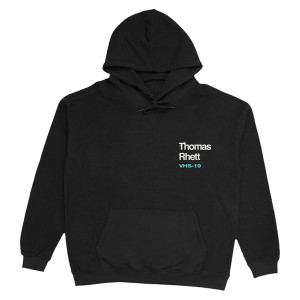 2019 Very Hot Summer Black Hoodie