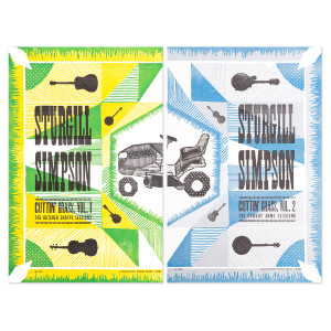 Cuttin' Grass Hatch Show Print Poster Set