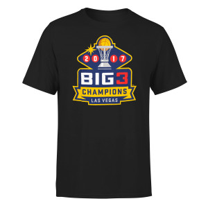 Big3 2017 Champions Black T-shirt