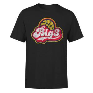 BIG3 SCRIPT BLACK T-SHIRT