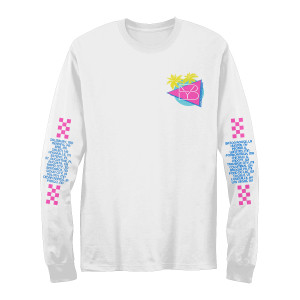 Retro Tour Date Long sleeve T-Shirt