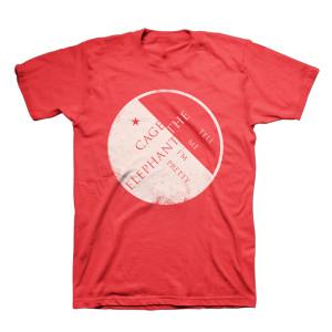 Splice Red T-Shirt