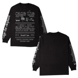 Social Cues Symbolism Black Longsleeve T-Shirt