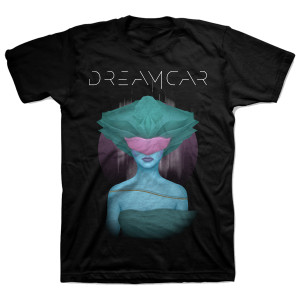 Dreamcar Album Cover Black T-Shirt