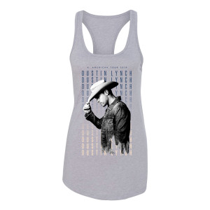 2019 N. American Tour Grey Tank Top