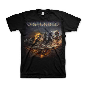 Disturbed Ongoing Box Black T-shirt