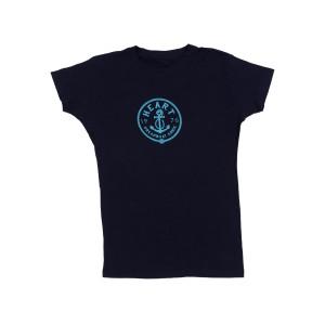 Dream Boat Annie Navy Ladies T-Shirt