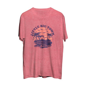Little Big Town Motorboatin' T-Shirt