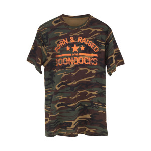 Boondocks Orange Camo T-Shirt