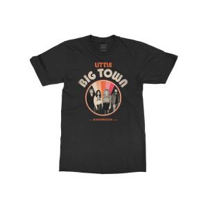 Bandwagon Tour Black Dateback T-shirt