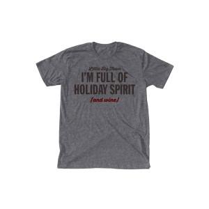 Full of Spirit and Wine Heather T-Shirt