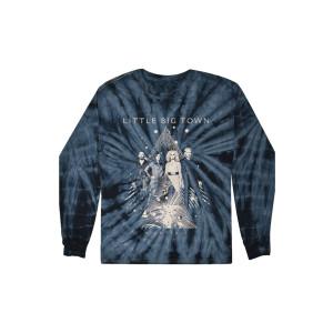 Nightfall Tie-Dye Dateback Longsleeve T-shirt