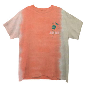 Flower Logo Dateback Tie-Dye T-shirt