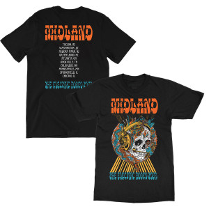 Electric Rodeo Black Tour T-Shirt
