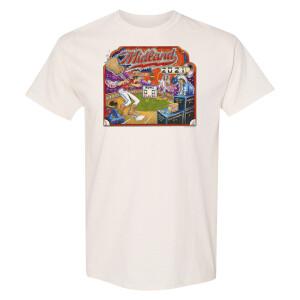 Back to the Minors Natural Illustration T-Shirt