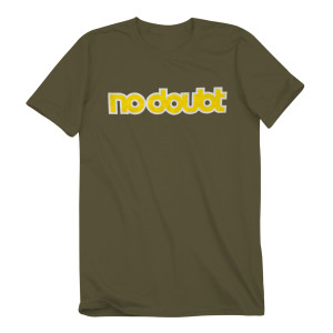 No Doubt Logo Olive T-Shirt