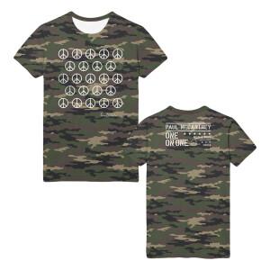 Ban the Bomb Camo T-shirt