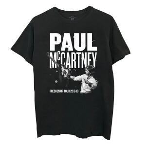 Freshen Up Black Guitar Photo Tour T-Shirt