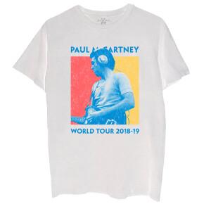 Color Block World Tour Photo T-Shirt
