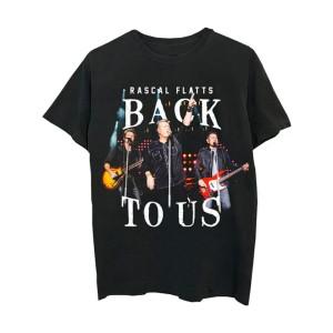 Rascal Flatts Back to Us Tour Dateback T-Shirt
