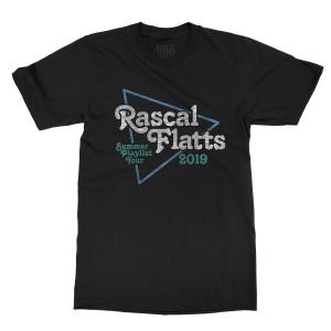Summer Playlist Tour Triangle Logo T-Shirt