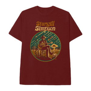 Sturgill Simpson Illustration Dateback T-shirt