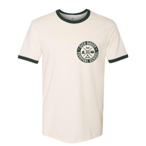 DDSS Green Ringer T-Shirt