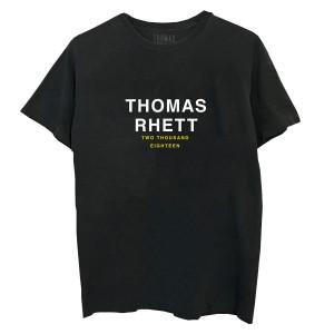 Life Changes Tour Dateback Black/Yellow T-Shirt