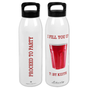 "Toby Keith ""Red Solo Cup"" 24oz Water Bottle"