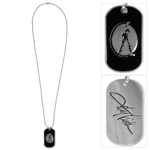 Toby Keith: Dog Tag Signature Necklace