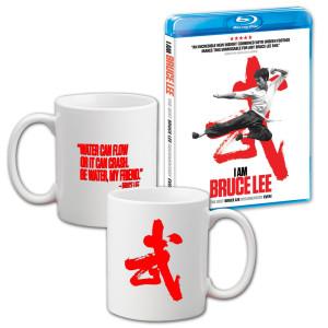 I Am Bruce Lee Mug/Blu-Ray Combo