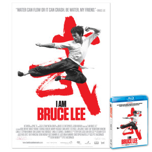 I Am Bruce Lee Litohgraph/Blu-Ray Combo