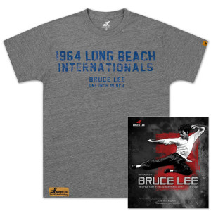 The Treasures of Bruce Lee Book/Long Beach Internationals T-shirt