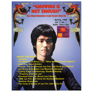 Bruce Lee - Knowing Is Not Enough Newsletter Spring 1998