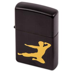 Bruce Lee Flying Man Zippo Lighter
