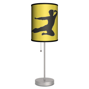 Bruce Lee Flying Man Lamp