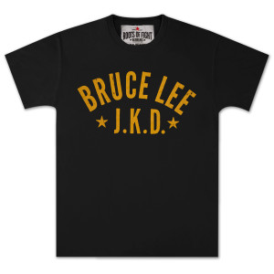 Bruce Lee Starred JKD T-shirt Black SS/LG