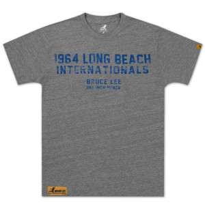 Bruce Lee Long Beach Internationals T-shirt - EXCLUSIVE
