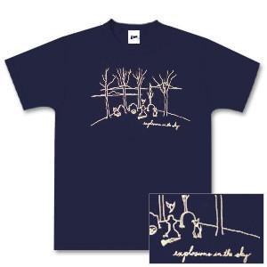 Navy Blue Graveyard T-shirt