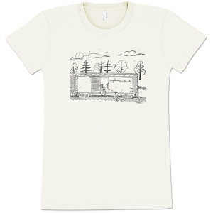 Explosions In The Sky Women's Natural Train T-Shirt