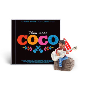 Coco Soundtrack with Singing Miguel Ornament