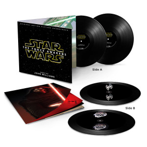 Star Wars: The Force Awakens Two LP Hologram Vinyl